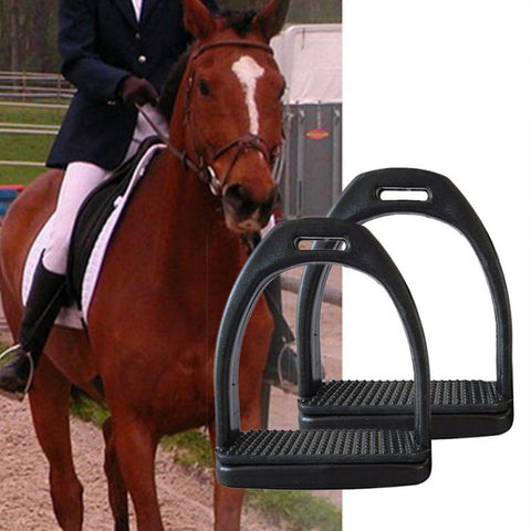 2PCS Children Adults Durable Horse Riding Stirrups