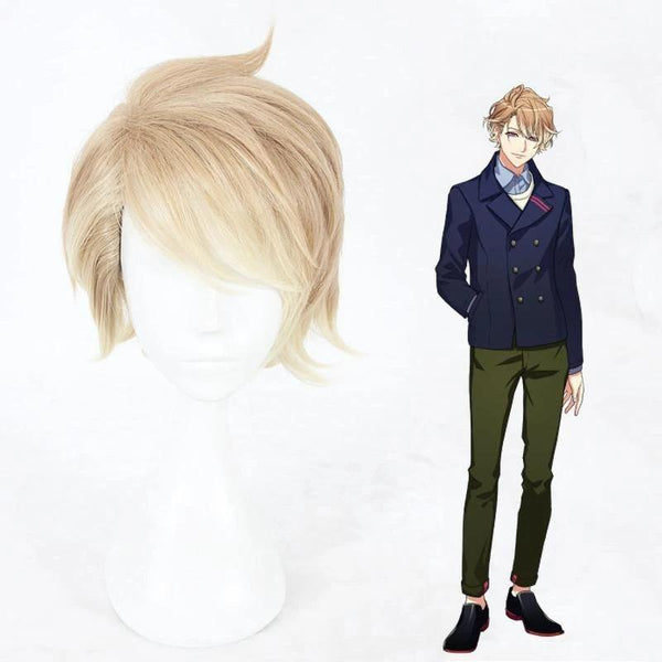 Anime Styled Cosplay Wig for A3 Itaru Chigasaki Halloween Wig