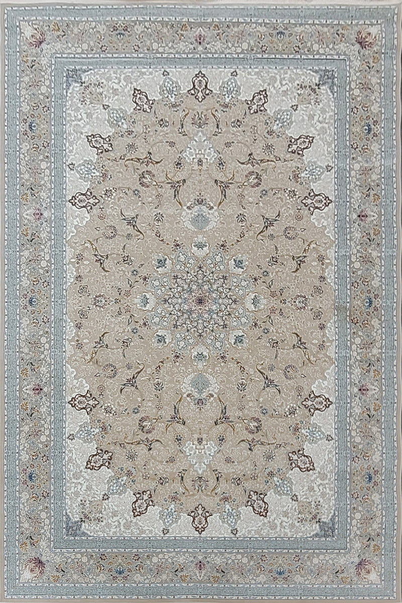 Mina Light Nescafe Traditional Persian Rug