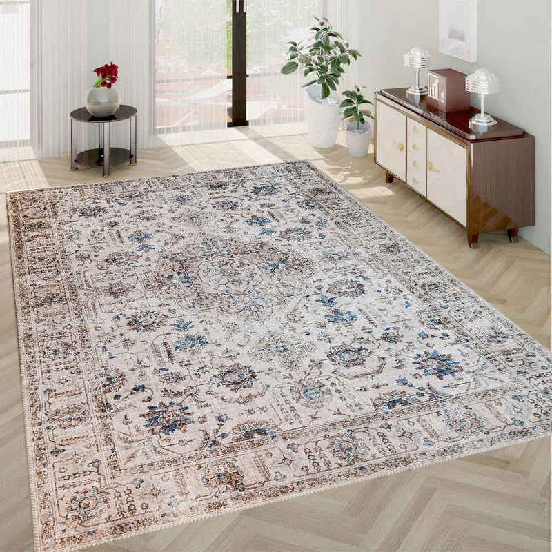 Shalke D Transitional Area Rug