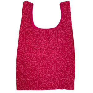 100% Bamboo Fabric Foldable Shopping Bag (Biodegradable, Eco-friendly)