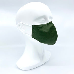 Hybrid fabric mask - Cotton + Silks + Bamboo fabric - Medium/Female size 210mm x 130mm