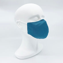 Load image into Gallery viewer, Hybrid fabric mask - Cotton + Silks + Bamboo fabric - Medium/Female size 210mm x 130mm