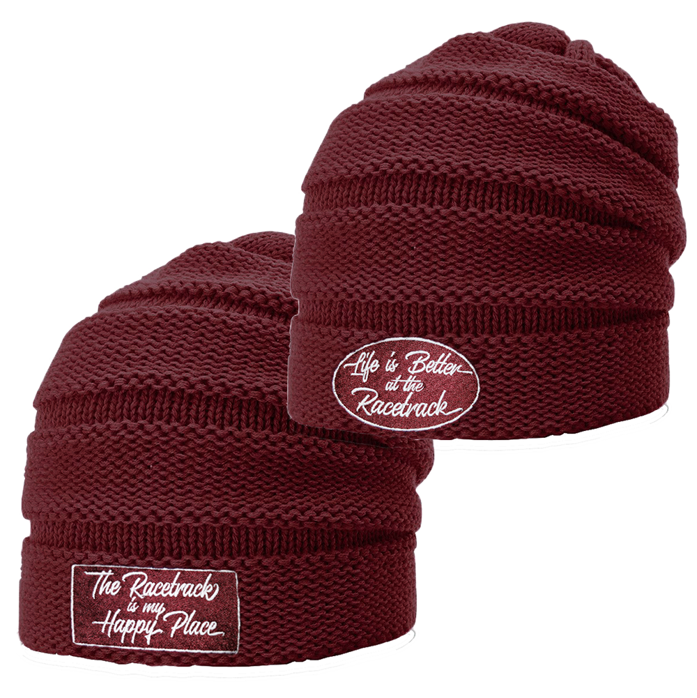 0a3a375c325 Embroidered Slouch Beanie
