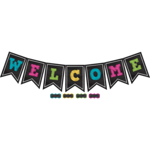 Chalkboard Bright Welcome
