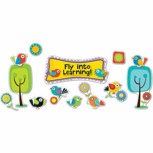 Boho Birds Fly into Learning