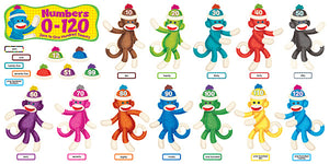 Sock Monkeys Numbers 1-120