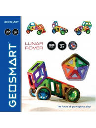 Lunar Rover Magnetic Building Toy