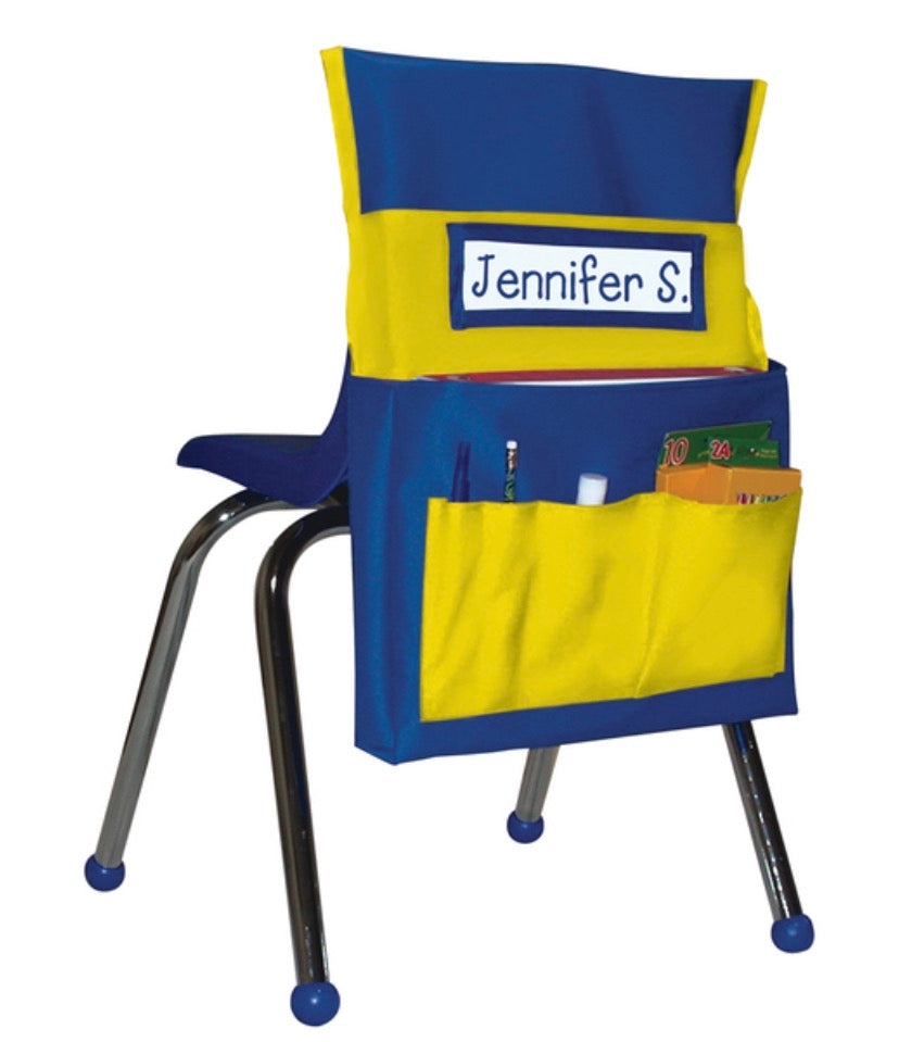 Chairback Buddy Yellow and Blue