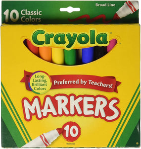 Crayola Markers set of 10