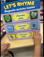 Load image into Gallery viewer, Let's Rhyme Magnetic Activity Center