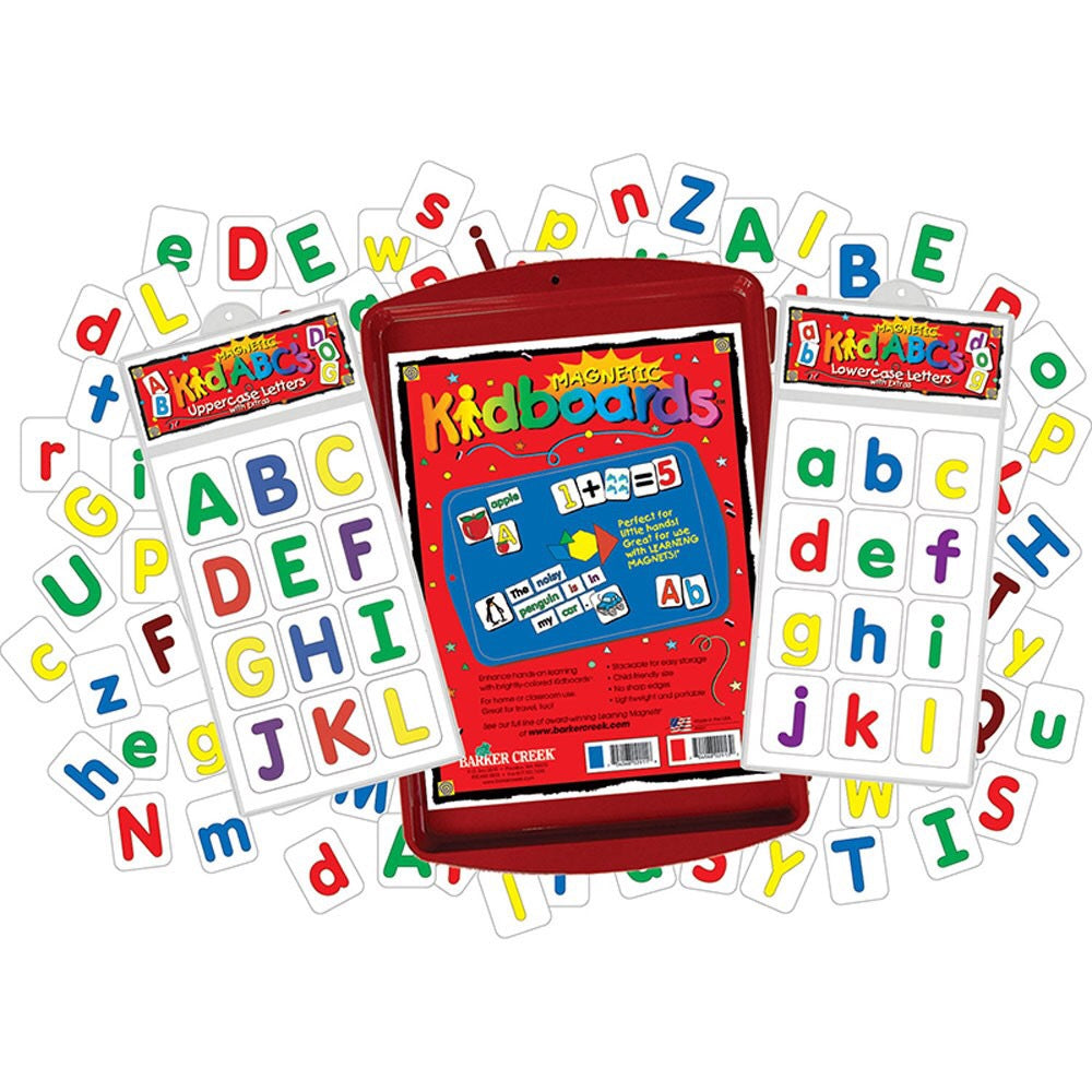 Learning Magnets Letters Activity Kit