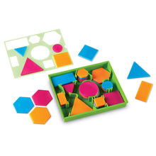 Load image into Gallery viewer, Brights! Attribute Blocks Desk Set