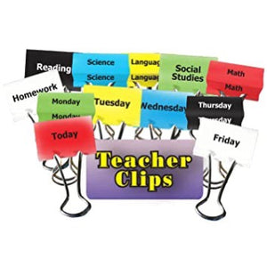 Classes & Days of the Week Teacher Clips