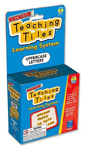 Magnetic Teaching Tiles Uppercase Letters