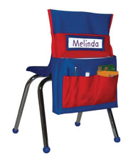 Load image into Gallery viewer, Chairback Buddy - Red and Blue