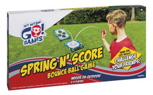 Spring and Score Bounce Game