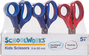 "Kids Scissors 5"" Class Pack -12"