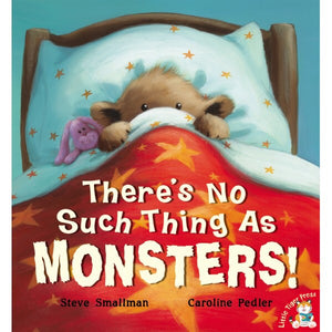 There's No Such Thing As Monsters Book and Audio CD