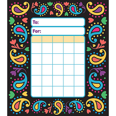 Perfectly Paisley Incentive Pad