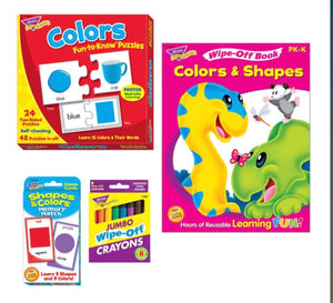 Colors and Shapes Learning Pack