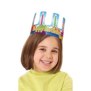 Happy Birthday Cupcake Crowns