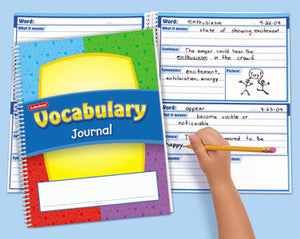 Vocabulary Journals Set of 10