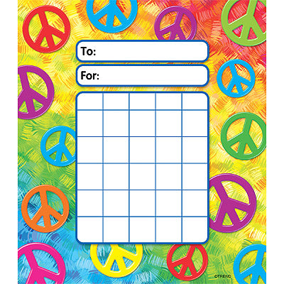 Peace Signs Incentive Pad