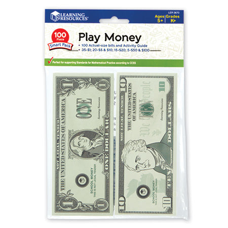 Play Money Smart Pack