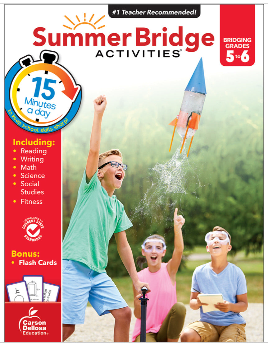 Summer Bridge Activities 5-6 (Students entering M1)