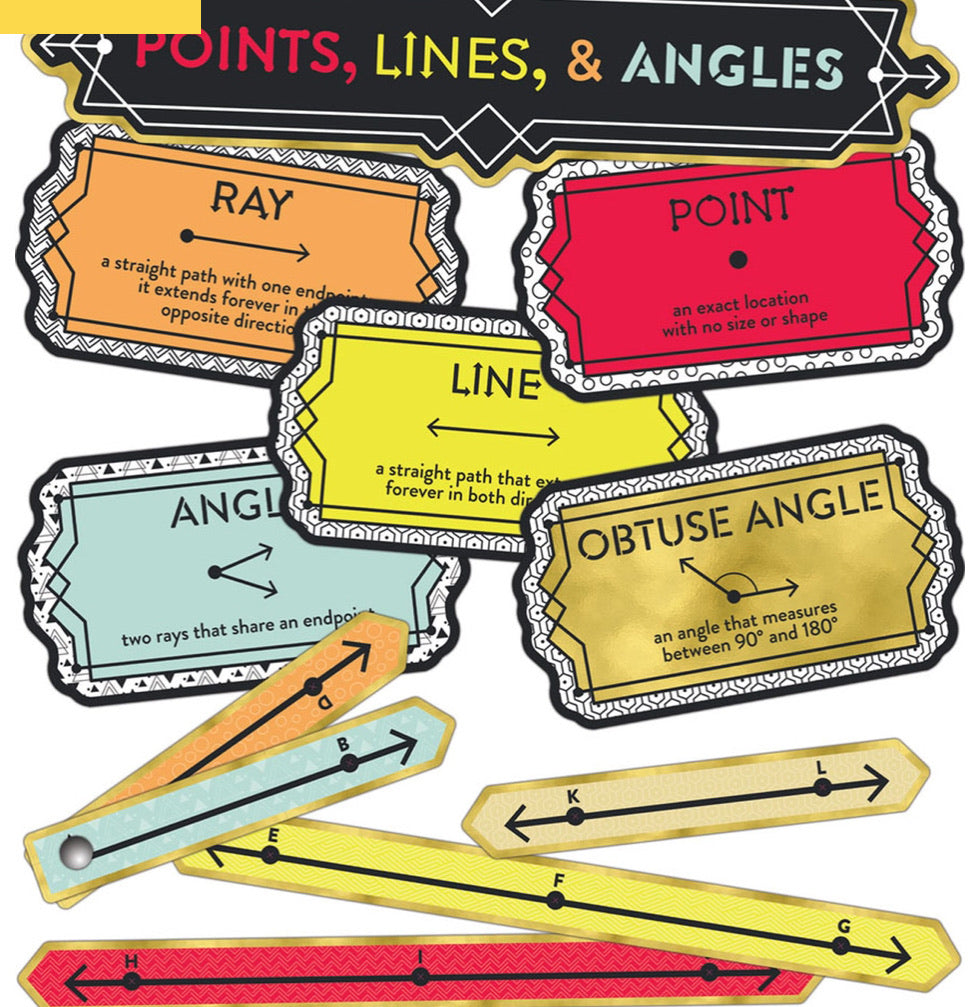 Points Lines and Angles