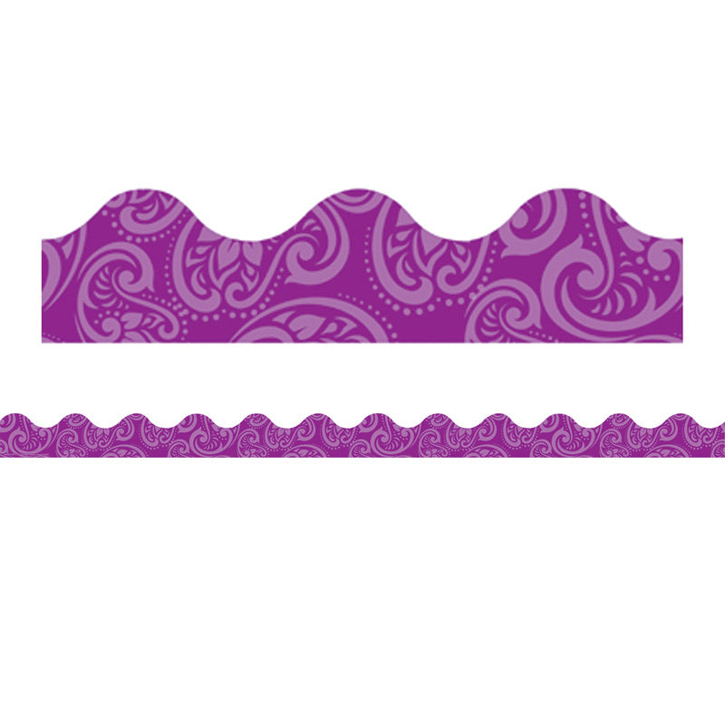 Positively Paisley Purple