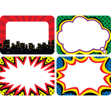 Load image into Gallery viewer, Superhero Name Tags/Labels - Multi-Pack