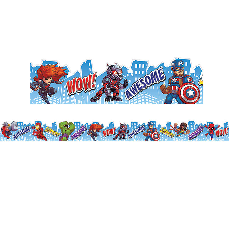 Marvel City Scape Border Extra Wide