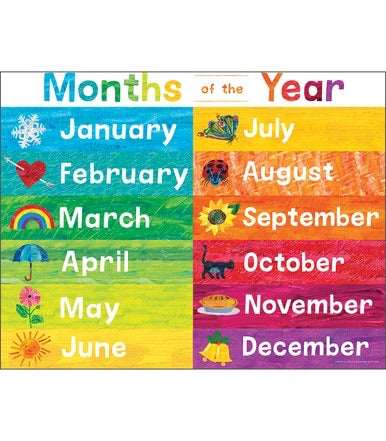 World of Eric Carle Months