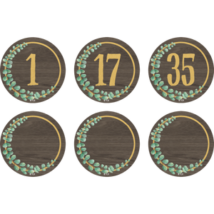 Eucalyptus Numbers Magnetic Accents