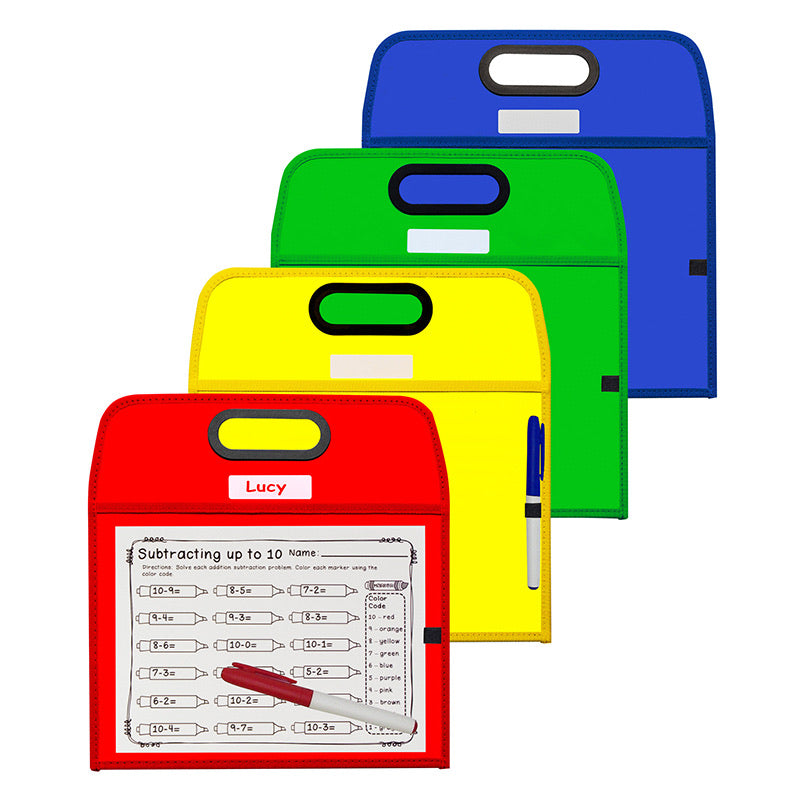Portable Dry Erase Pocket
