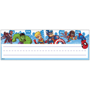 Marvel Super Hero Adventure Nameplates