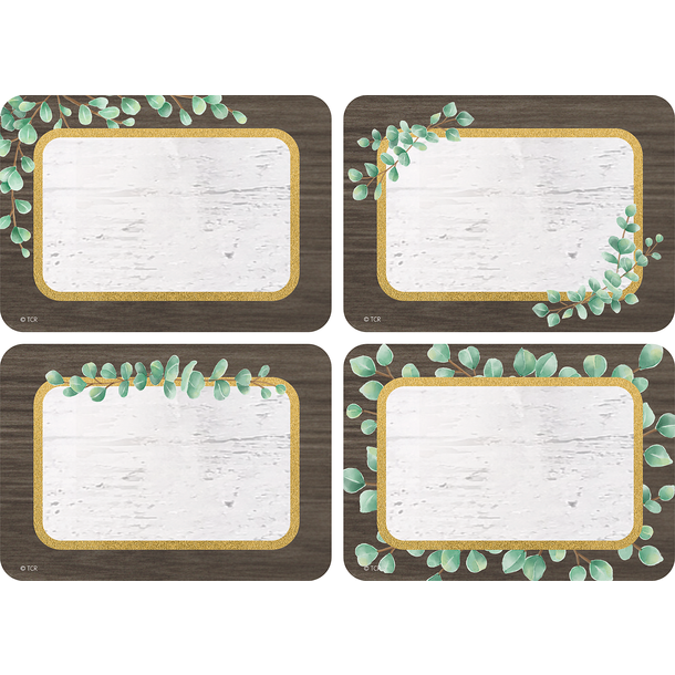 Eucalyptus Name Tags/Labels - Multi-Pack