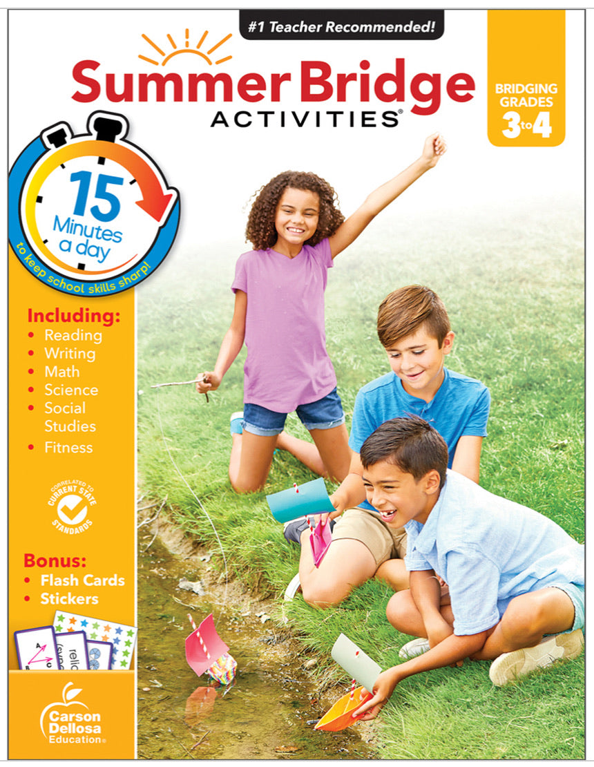 Summer Bridge Activities 3-4 (Students entering Primary 5)