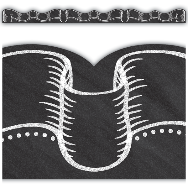 Chalkboard Ribbon Border