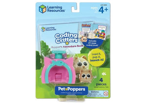 Coding Critters Pet Poppers Pepper the Cat