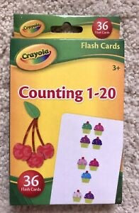 Counting 1-20 Flashcards