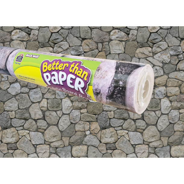 Rock Wall Better Than Paper Bulletin Board Roll