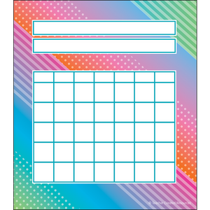 Colorful Vibes Incentive Chart Pad