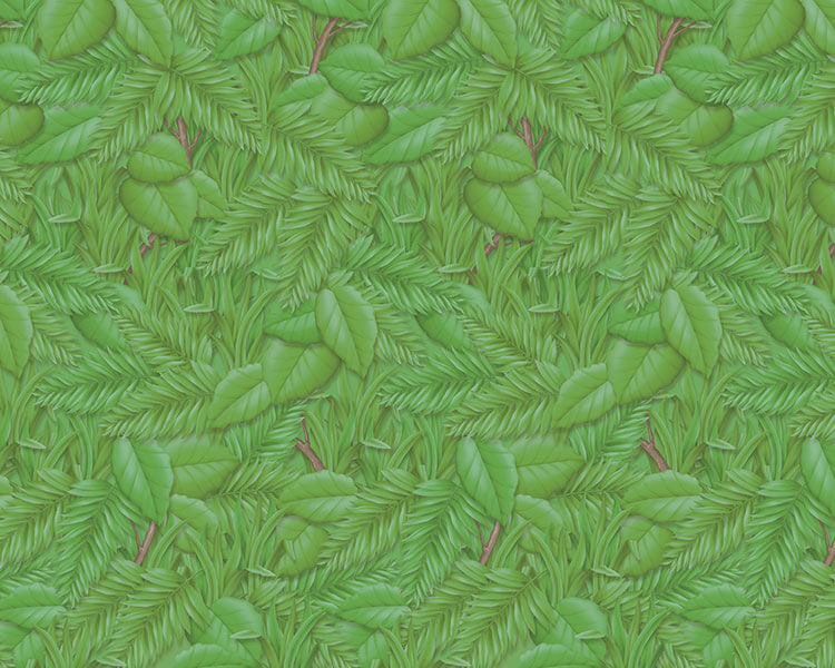 Fadeless Paper Tropical Foliage 48