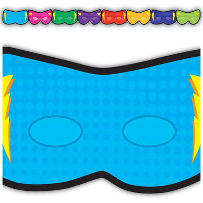 Superhero Masks Border