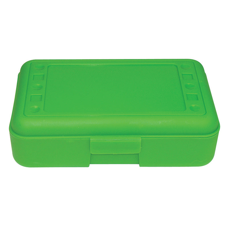Pencil Box Lime Opaque