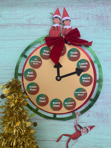Elf Play Time Clock