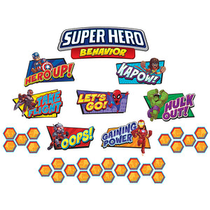Marvel Super Hero Adventure Mini Bulletin Board Set